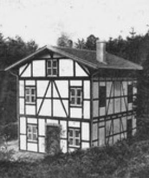 Das erste Haus im Landesverband stand am Bielefelder Tönsberg.